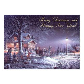 Tarjeta Felices Navidad y Feliz Año Nuevo