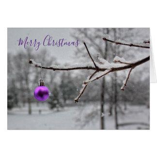 Tarjeta Felices pequeños Navidad (tarjeta)