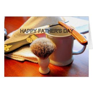 Tarjeta feliz aguda del día de padre