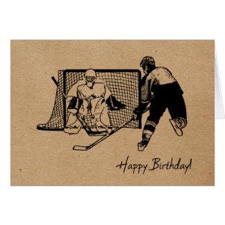 Tarjeta ¡Feliz cumpleaños! Bosquejo de la tinta de la