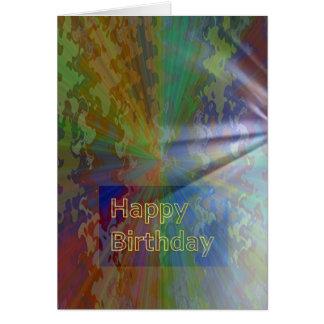 Tarjeta Feliz cumpleaños colección de marzo de 2012