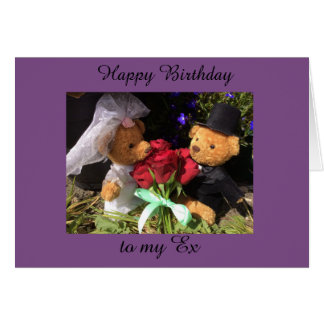 Tarjeta feliz cumpleaños ex