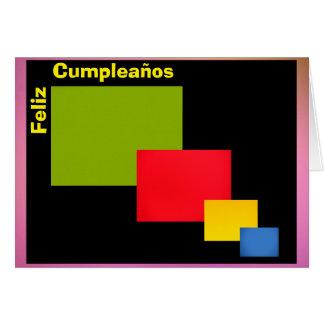 Tarjeta - Feliz Cumpleaños - Flores de Cerezo