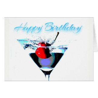 Tarjeta Feliz cumpleaños - hora de celebrar