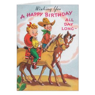 Tarjeta Feliz cumpleaños todo el día
