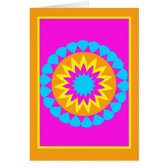 Tarjeta feliz de Norooz -- Colores brillantes