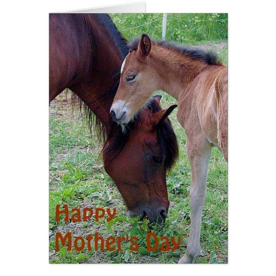 Tarjeta feliz del día de madre