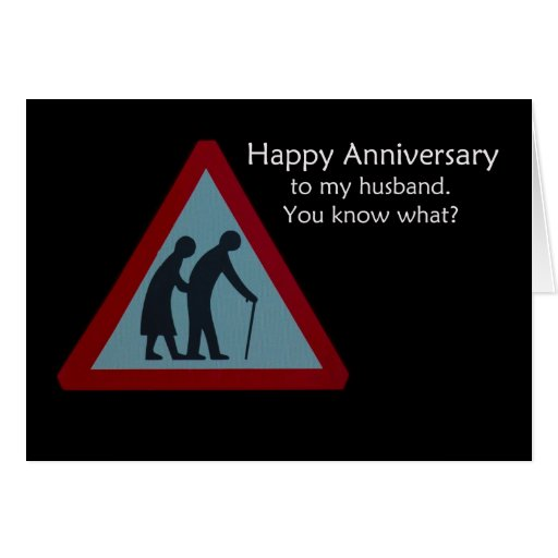 Tarjeta feliz del marido del aniversario