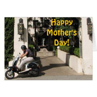 ¡Tarjeta feliz estupenda del día de madre!