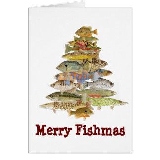 Tarjeta Feliz Fishmas