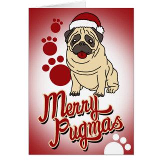 Tarjeta ¡Feliz Pugmas!