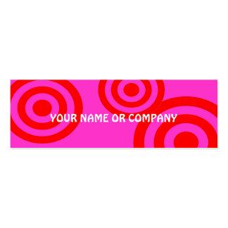 tarjeta femenina del contacto del chica plantillas de tarjetas personales