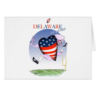 Tarjeta fernandes tony ruidosos y orgullosos de Delaware,