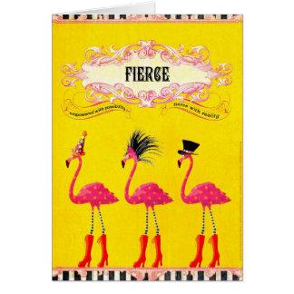 Tarjeta Feroz (tarjeta de cumpleaños)