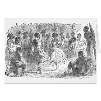 Tarjeta Festividades de la Nochebuena en un estado de