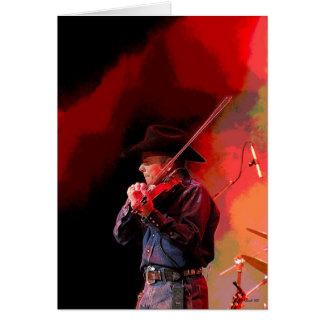 Tarjeta Fiddler candente de Smokin