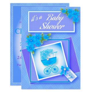 Tarjeta Fiesta de bienvenida al bebé dulce y suave de los