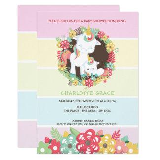 Tarjeta Fiesta de bienvenida al bebé personalizada
