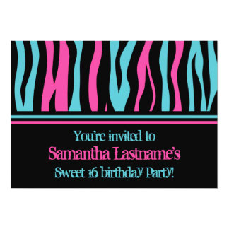 Tarjeta Fiesta de cumpleaños del dulce 16