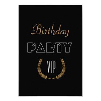 Tarjeta Fiesta de cumpleaños VIP
