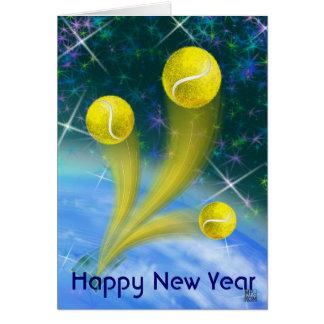 Tarjeta Fiesta de la Feliz Año Nuevo de la victoria del