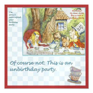 Tarjeta Fiesta de Unbirthday