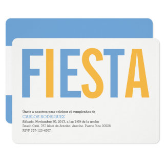 Tarjeta Fiesta la Argentina