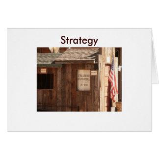 Tarjeta Financiero estratégico