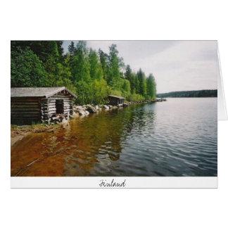 Tarjeta Finlandia - postacrd