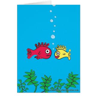 Tarjeta Fishies