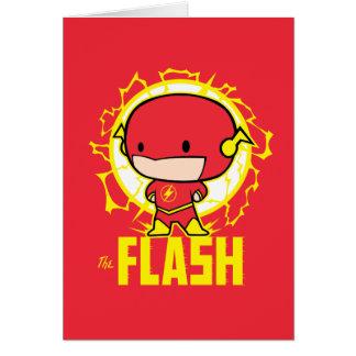 Tarjeta Flash de Chibi con electricidad
