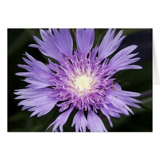 Tarjeta Flor violeta Notecard
