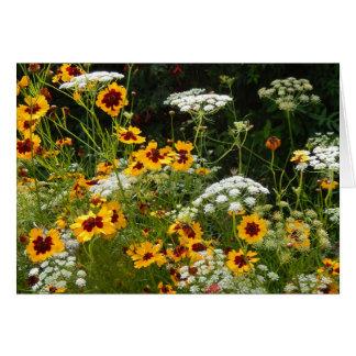 Tarjeta Floraciones dulces del verano