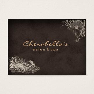 Tarjeta floral de la cita del balneario de moda
