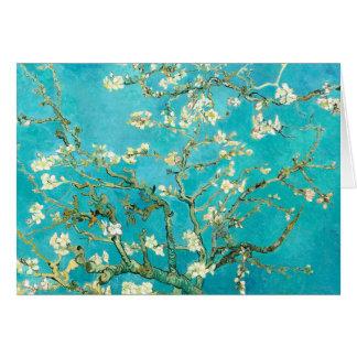 Tarjeta Flores de la almendra de Van Gogh