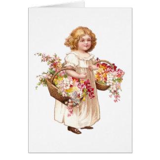 Tarjeta Florista