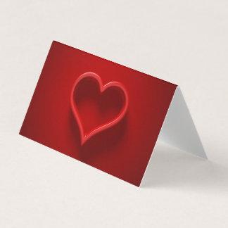 Tarjeta forma de cardíaco con luz y sombra postal 2