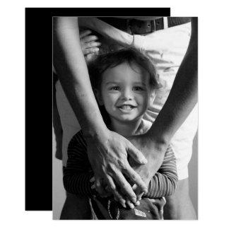 Tarjeta Foto minimalista del día de padre