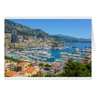 Tarjeta Fotografía de Mónaco Monte Carlo