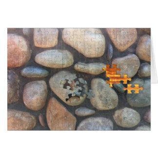 Tarjeta Fotografía del primer de la pared de la roca del
