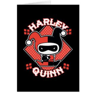 Tarjeta Fracturas de Chibi Harley Quinn