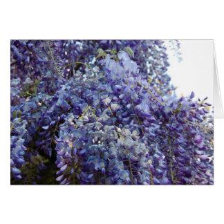 Tarjeta Fragancia en azul