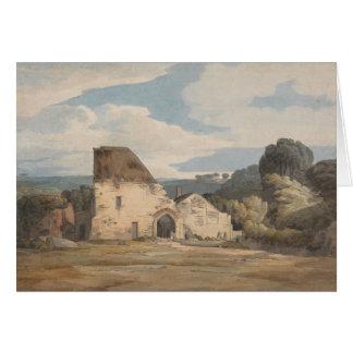 Tarjeta Francisco Towne - abadía de Dunkerswell