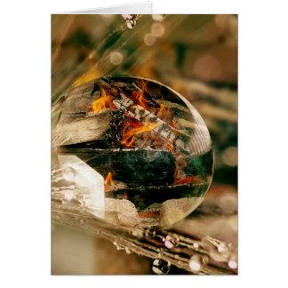 Tarjeta Fuego y agua