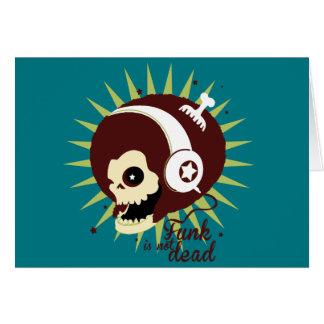 Tarjeta Funk not dead