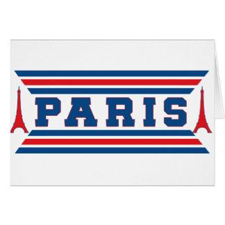 Tarjeta Fútbol París
