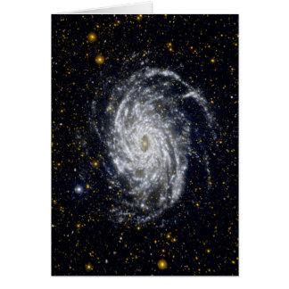 Tarjeta Galaxia espiral