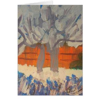 """Tarjeta Galería """"árboles de Smeraldo de melocotón del rosa"""