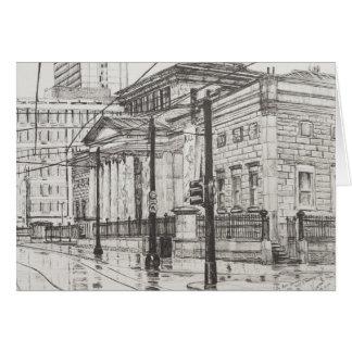 Tarjeta Galería de arte de la ciudad Manchester. 2007