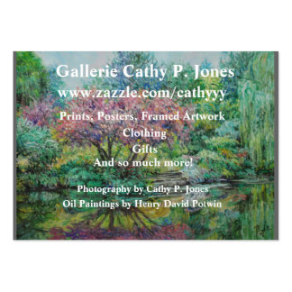 Tarjeta Gallerie Cathy P. Jones del perfil Tarjetas De Visita Grandes